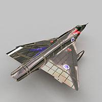 mirageIII战斗机模型