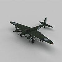 MOSQUITOC战斗机模型