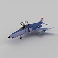 PhantomF4E战斗机模型