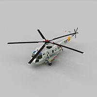 SH3HNAVY武装直升机模型