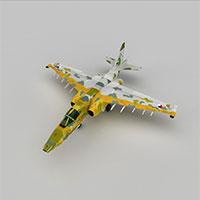SU25战斗机模型