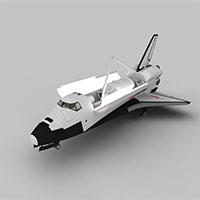 太空航天飞机模型