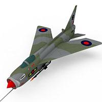 军事战斗机模型
