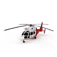 AS365海豚直升机模型