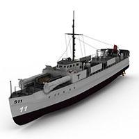 E-BOAT军舰模型