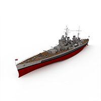 KGEORGE军舰模型