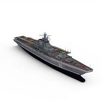Kiev航空母舰模型
