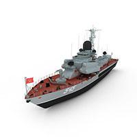 nanuchka军舰模型