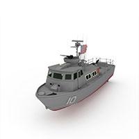 PATROLB军用快艇模型