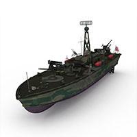 PT328军舰模型
