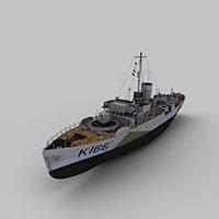 SBERRY军舰模型