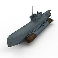 SEEHUND潜艇模型