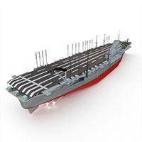 SHINANO航空母舰模型
