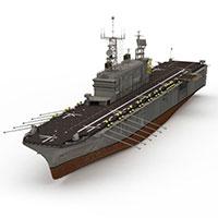 TARAWA航空母舰模型