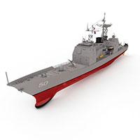 VALLEYF军舰模型
