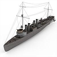 WICK40军舰模型