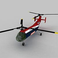 WORKHORS军用运输机模型