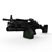 M249特种用途武器模型