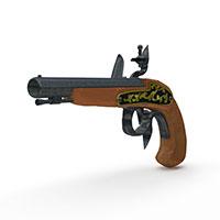 BUCCAN枪模型