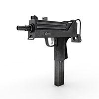 乌兹冲锋枪模型