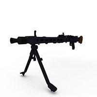 军用枪械Mg42模型