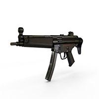 德国MP5冲锋枪模型