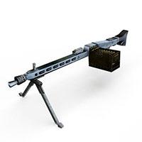 德国二战机关枪模型