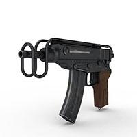 捷克Skorpion冲锋枪模型