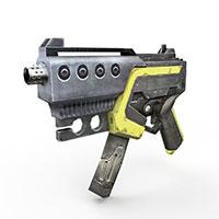 现代冲锋枪模型