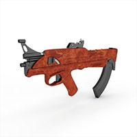 战争突击步枪模型
