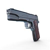 柯尔特m1911式手枪模型
