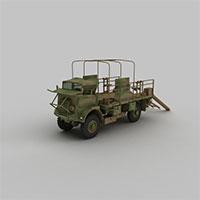 军事运输车模型
