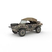 军用吉普车模型