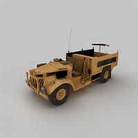 二战德国侦查车模型