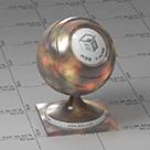金属混合金vray材质