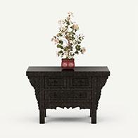 仿真花卉盆景3D模型