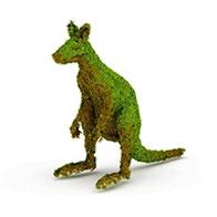 3D袋鼠园艺造型模型