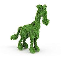 3D鹿园艺造型模型