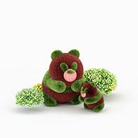 熊猫园艺造型3D模型