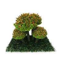 仿真草坪3D模型