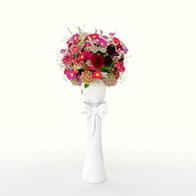 3D彩色仿真花模型