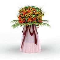 菊花花篮模型3D模型