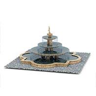 公园喷泉3D模型