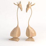 3D创意景观小品模型