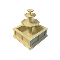 3D园林小品模型