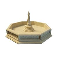 喷泉3D模型