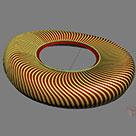 3Dmax中利用网格平滑、细分制作异形建筑