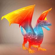 户外飞龙花灯3D模型