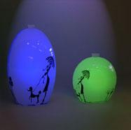 3D陶瓷花瓶灯模型